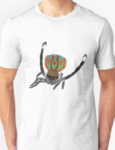 Peacock Spider Unisex T-Shirt