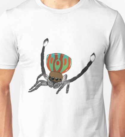 Peacock Spider Unisex T-Shirt