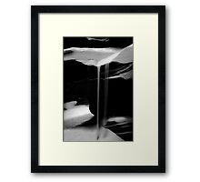 Sand Waterfall #2 Framed Print