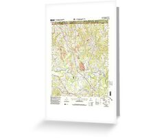 USGS TOPO Map Alabama AL Manchester 304474 2000 24000 Greeting Card