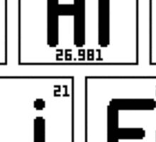 "Half-Life ""Periodic Table"" Sticker"
