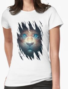 Red Tiger Womens Fitted T-Shirt