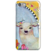 Deer in the Desert iPhone Case/Skin