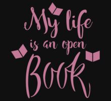 My life is an open book Kids Tee