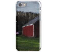 Sundown Wash line in Jefferson iPhone Case/Skin