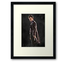 Low Poly 11th Doctor Framed Print