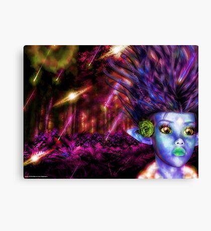 Alien Sprite (Fairy) Canvas Print