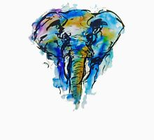 Elephant Blot Doodle Unisex T-Shirt