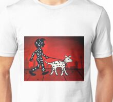 Waggin' His Tail Unisex T-Shirt