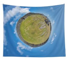 Fortified Ball - Inside Dun Aengus stone fort Wall Tapestry