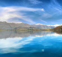 Wanaka Blue  ( 21 ) by Larry Lingard-Davis