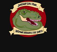 Dinosaur Eats Man.... Unisex T-Shirt