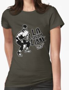 La Luchador Mexico Womens Fitted T-Shirt