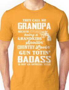 Badass Grandpa Unisex T-Shirt