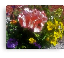 Shadow Clan Mother's Day Bouquet Canvas Print