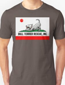 Bull Terrier Rescue, Inc. California Flag Unisex T-Shirt