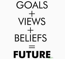 GOALS, VIEWS, BELIEFS Unisex T-Shirt