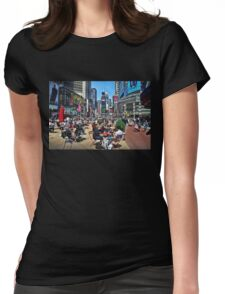 The Crossroads of the World Womens Fitted T-Shirt