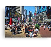 The Crossroads of the World Canvas Print