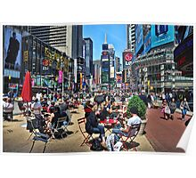 The Crossroads of the World Poster