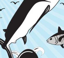 Marlin Scene Sticker