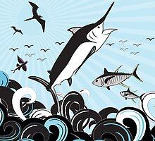 Marlin Scene by blackmarlinblog