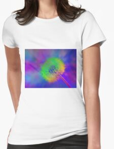 Dandelion Dream Womens Fitted T-Shirt