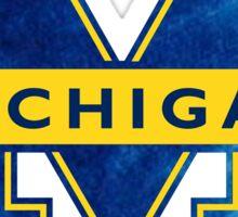Michigan Tie Dye Sticker