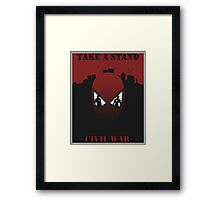 captain america civilwar Framed Print