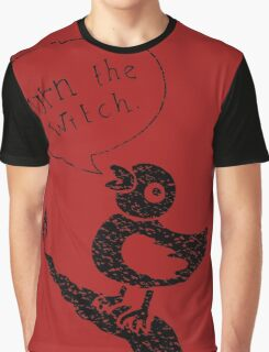 Burn the Witch - Black Graphic T-Shirt