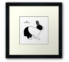 Dutch Rabbit, Britannia Petite Framed Print