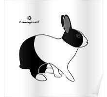 Dutch Rabbit, Britannia Petite Poster