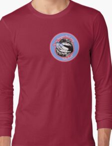 Tongue Tied (Blue Red) Long Sleeve T-Shirt