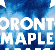 Toronto Maple Leafs Tie Dye Logo Sticker