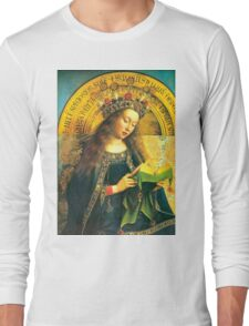 Adoration of the lamb (The Virgin Mary) Long Sleeve T-Shirt