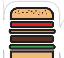BURGERS ICON Sticker