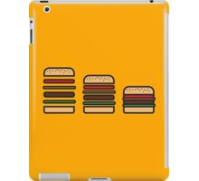 BURGERS ICON iPad Case/Skin