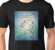 Ralph Waldo Emerson - Live in the Sunshine Unisex T-Shirt