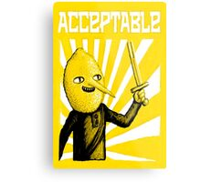Acceptable, 2014 Metal Print
