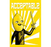 Acceptable, 2014 Photographic Print