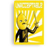 Unacceptable, 2014 Canvas Print