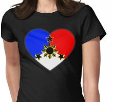 HEART OF PINOY Womens Fitted T-Shirt