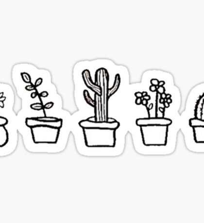 CUTE PLANTS Sticker