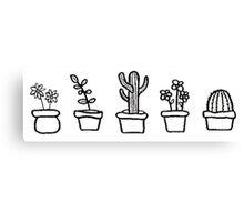 CUTE PLANTS Canvas Print