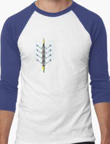 Row, Row, Row, ya Boat Men's Baseball ¾ T-Shirt