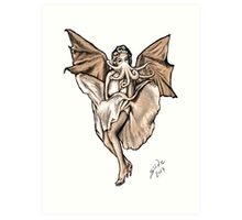 Cthulyn Monroe, 2014 Art Print