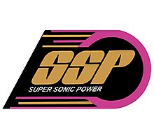 Kenner SSP Racers! Super Sonic Power! Photographic Print