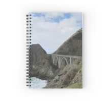 View from a Scenic Lookout  Spiral Notebook