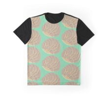 Chocolate Concha Bread Graphic T-Shirt
