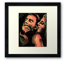 His Ear, 2014 Framed Print